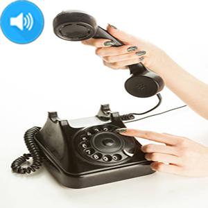 صدای شماره گیر تلفن قدیمی